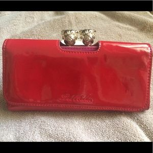 51244b998ac18 Ted Baker Bags - Ted Baker Red Roverz Wallet